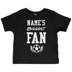 Custom Name Biggest Soccer Fan
