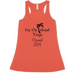 I'm On Island Time Tank Shirt