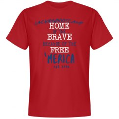Mens home of the brave