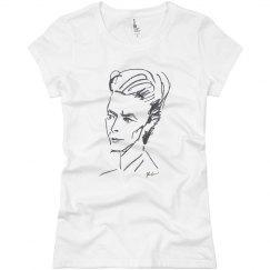 David Bowie Women's Basic T