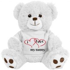 i love my nanny bear