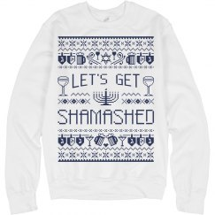 Hanukkah Drinking Sweater