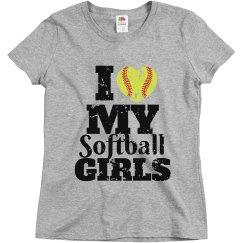 I love my softball girls