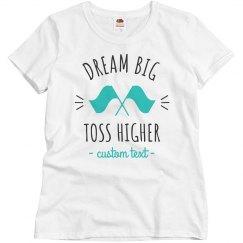 df671677 Marching Band Undershirt Ladies Slim Fit Basic Promo Jersey T-Shirt