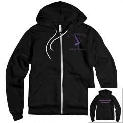 Empowered Logo Girl Mid weight hoodie