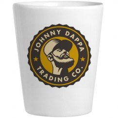 Johnny Dappa Trading Co. Ceramic Shot Glass