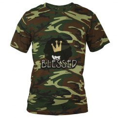 Blessed Camo Tee