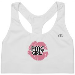 "PMG GIRLS ""COTTON CANDY"" SPORTS BRA"