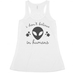 I Don't Believe In Humans Tank