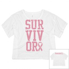 Survivor Tee w/Back