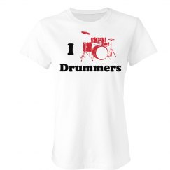 I Heart Drummers