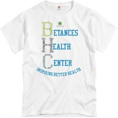 bhc inspiring health unisex tee