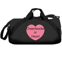 Cheerleader at heart