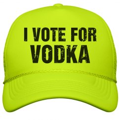 Neon Vote For Vodka