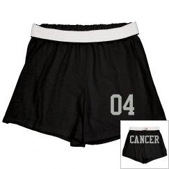 Cancer Sporty Zodiac Cheer Short