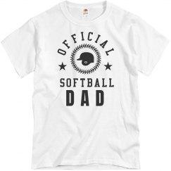Official Softball Dad