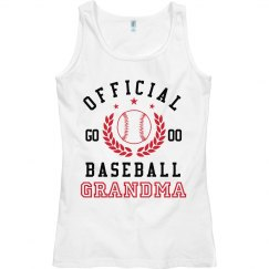 Official Grandma Baseball Tank