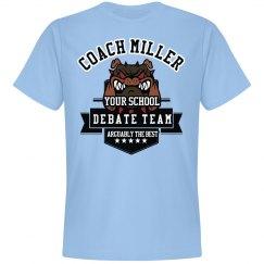 Debate Team Coach