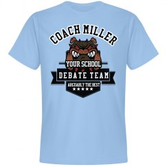 Debate Team Coach