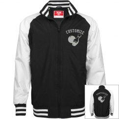 Personalized Bowlers Unisex Bomber Jacket