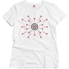 Heart Bullseye and Arrows