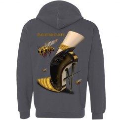 Beewear Anvil Front Zipper Unisex Hoodie