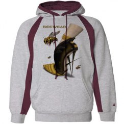 Beewear Striped Heavyweight Unisex Hoodie