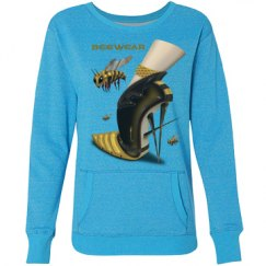 Beewear Glitter Loose Fit Crew Neck Sweatshirt for Miss