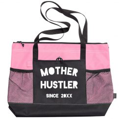 Mother Hustler Since Custom Year Funny Zippered Bag