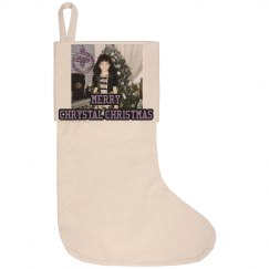 Chrystal Christmas Stocking