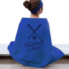Proud Baseball Mom Bats