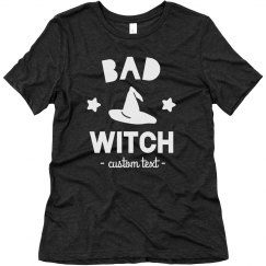 Bad Witch Halloween Tee