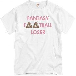 Simple Fantasy Football Loser