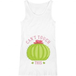 Can't Touch This Cacti Maternity Tank
