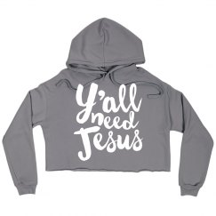 Cozy Comfy Y'all Need Jesus