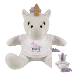 Unicorns Hate Chest Stands plushie