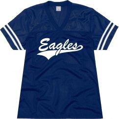 Georgetown eagles shirt.