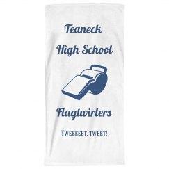 Tweeeet Tweet! Beach Towel