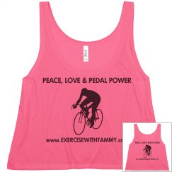 PEACE,LOVE & PEDAL POWER