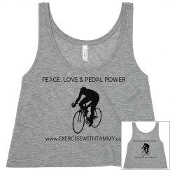 PEACE,LOVE & PEDAL POWER