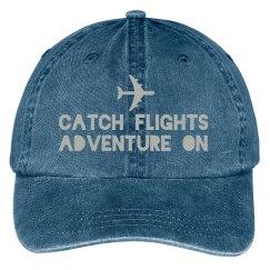 Catch Flights hat