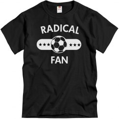 Radical soccer fan
