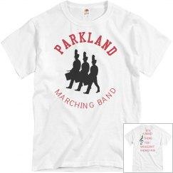 Guys Parkland Band shirt