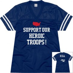 Support troops jersey