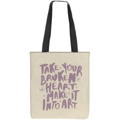 Turn Your Broken Heart Into Art
