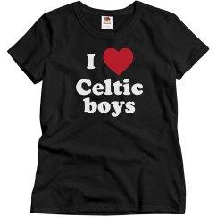 I love Celtic boys