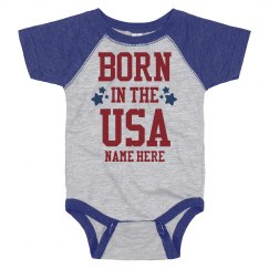 Custom Fourth of July Onesie
