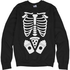 Girl Skeleton Costume