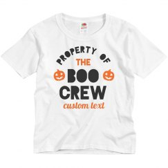 Boo Crew Custom Family Tees