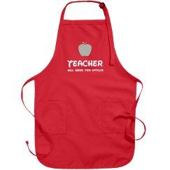 Funny Teacher Gift Apron